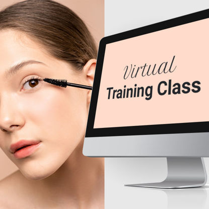 Picture of Virtual Lash Ext. Training Class with (No Kit)