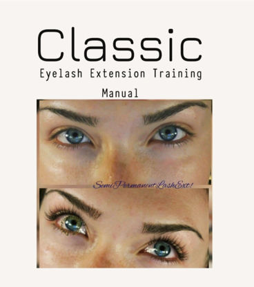 Picture of Digital Product - Lash Extension Training Manual