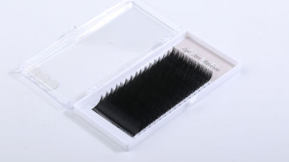 Picture of Faux Mink-black Mixed 12-15mm0.15 Curl-C