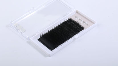 Picture of (LC) Faux Mink-black Mixed8-15mm 0.20 Curl-LC