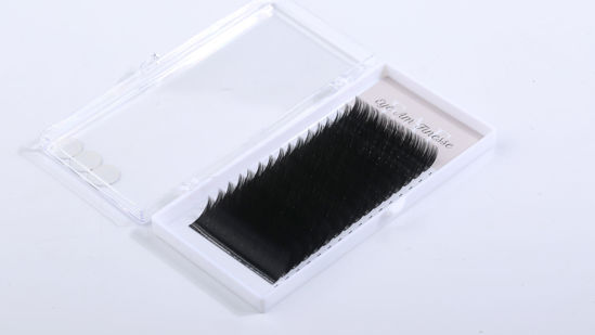 Picture of Faux Mink-black Mixed 12-15mm  0.15 Curl-C